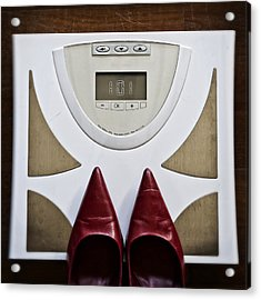 Scale Acrylic Print by Joana Kruse
