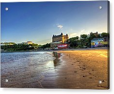 Scarborough Eve Acrylic Print by Svetlana Sewell