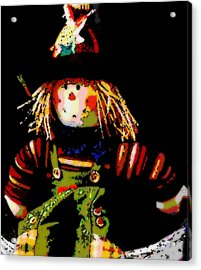 Scarecrow Acrylic Print by David Alvarez