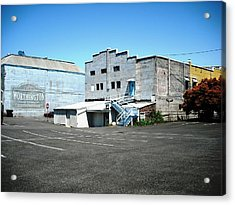 Scene Of The Rescue Saint Helens Acrylic Print