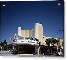 Scenes Of Los Angeles, The Mann Bruin Acrylic Print by Everett