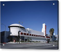 Scenes Of Los Angeles, The Merle Norman Acrylic Print by Everett