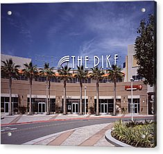 Scenes Of Los Angeles, The Pike Acrylic Print by Everett