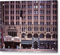 Scenes Of Los Angeles, The United Acrylic Print by Everett
