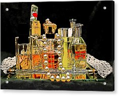 Acrylic Print featuring the photograph Scents Of A Woman by DigiArt Diaries by Vicky B Fuller