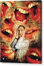Schizophrenia Acrylic Print by Tim Vernon, Lth Nhs Trust
