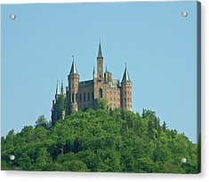 Acrylic Print featuring the photograph Schloss Hohenzollern Germany by Joseph Hendrix