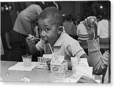 School Breakfast Acrylic Print by Archive Photos
