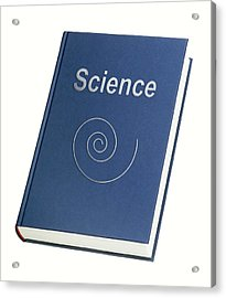 Science Book Conceptual Image Acrylic Print by Richard Kail