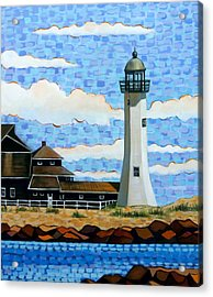 Scituate Light House Acrylic Print