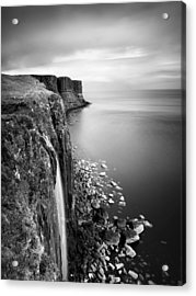 Scotland Kilt Rock Acrylic Print by Nina Papiorek