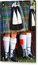 Scottish Festival 4 Acrylic Print by Dawn Eshelman