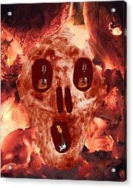Scream Music Acrylic Print by Eric Kempson