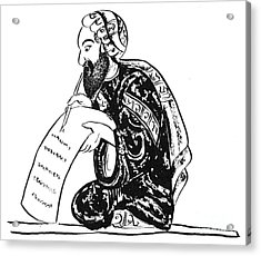 Scribe: Arab, 14th Century Acrylic Print by Granger