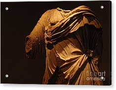 Sculpture Olympia 1 Acrylic Print by Bob Christopher