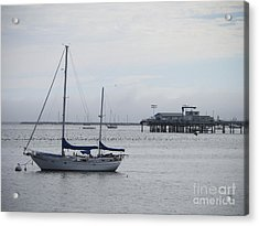Acrylic Print featuring the photograph Sea Breeze by Leslie Hunziker
