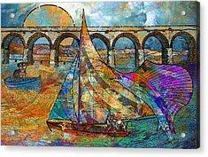 Sea Dream Acrylic Print by Mary Ogle