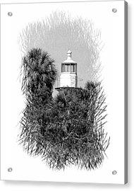 Sea Horse Key Light Acrylic Print