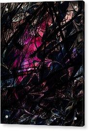 Sea Monster Acrylic Print by Rachel Christine Nowicki