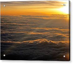 Sea Of Clouds Acrylic Print by Jyotsna Chandra