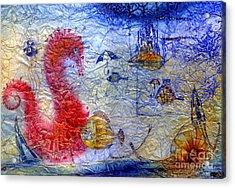 Sea Pegasus Acrylic Print by Svetlana and Sabir Gadghievs
