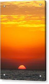 Sea Sunrise Acrylic Print