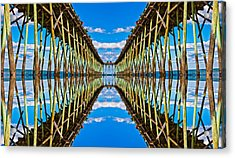 Sea Trestle Acrylic Print