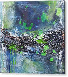 Acrylic Print featuring the painting Sea World by Nicole Nadeau