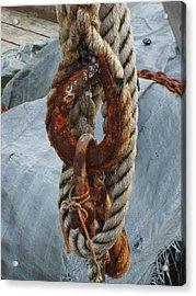 Seafarer's Rigging Acrylic Print
