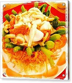 Seafood Nest Acrylic Print