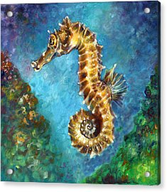 Seahorse II Acrylic Print
