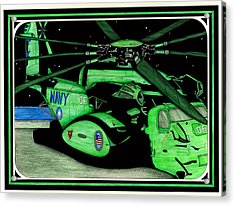 Seal Team 6 Acrylic Print by Norman Sandow