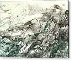 Seascape 04 Acrylic Print by David W Coffin