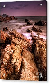 Seascape Acrylic Print by Buchachon Petthanya