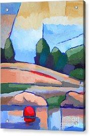 Seascape I Acrylic Print by Lutz Baar