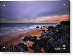 Seascape Acrylic Print by Paul Ward