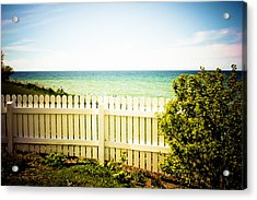 Acrylic Print featuring the photograph Seaside Retreat by Sara Frank