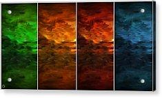 Seasons Change Acrylic Print by Lourry Legarde