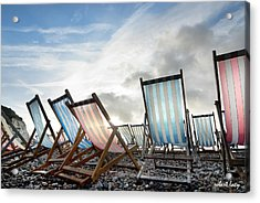 Seasons End Acrylic Print by Robert Lacy