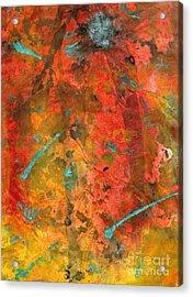 Seasons Of Joy Acrylic Print by Angela L Walker
