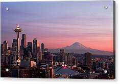 Seattle Acrylic Print by Aaron Morris