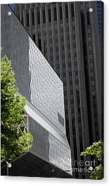 Seattle Central Library Acrylic Print by Ed Rooney