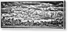Seattle Cityscape II Acrylic Print by David Patterson