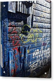 Seattle Graffiti Acrylic Print by Randall Weidner