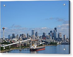 Seattle Skyline 1 Acrylic Print
