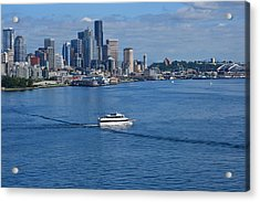 Seattle Skyline 2 Acrylic Print