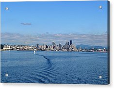 Seattle Skyline 3 Acrylic Print