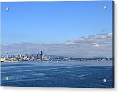 Seattle Skyline 4 Acrylic Print