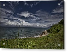 Secluded Cove Acrylic Print by Douglas Barnard