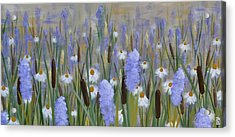 Secret Garden Acrylic Print by Holly Donohoe